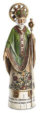 St Patrick Figurine