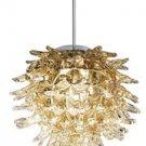 LBL Lighting Ooni Amber Mini Pendant