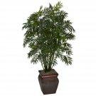 Mini Bamboo Palm w/Decorative Vase