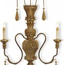 2 Light Mansion Wall Sconce