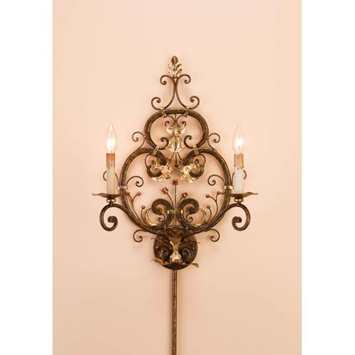 2 Light Dominion Wall Sconce