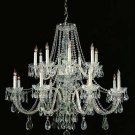 Traditional Crystal - Sixteen Light Chandelier by Crystorama Lighting