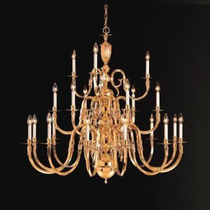 Crystorama Lighting - Williamsburg - Twenty-One Light Chandelier