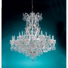Maria Theresa Chandelier ch-cl-mwp by Crystorama Lighting