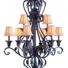 Georgetown Chandelier dr by Crystorama Lighting