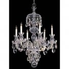 Crystorama PB-CL-S 6 Light Chandeliers - Polished Brass