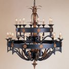Currey & Company 20 Light Camelot Chandelier