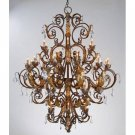 Currey and Company Innsbruck - Thirty-Nine Light Chandelier