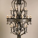 Currey & Company 24 Light Colossus Chandelier