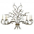 Currey & Company Raintree Six-Light Oval Chandelier
