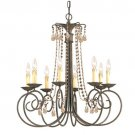 SOHO Chandelier by Crystorama Lighting