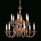 Crystorama Georgetown Two-Tier Chandelier.
