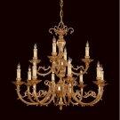 Crystorama Lighting Group Etta Twelve-Light Chandelier