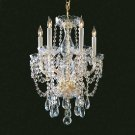 Bohemian Clear Swarovski Spectra Crystal 8 Light BY CRYSTORAMA LIGHTING