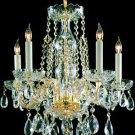 Crystorama Traditional Crystal 5 Light Chandelier