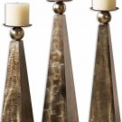 Cesano - Decorative Candle Holder (Set of 3) by Uttermost