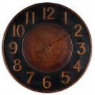 "Matera - 36"" Round Clock by Uttermost"