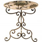 Floral Side Table by Sterling Industries