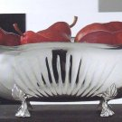 Sterling Silver Bowl with Legs.