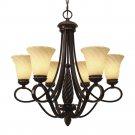 Golden Lighting - 8106-6 - Torbellino - Six Light Chandelier