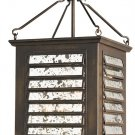 Currey and Company Passage - Four Light Outdoor Hanging Lantern