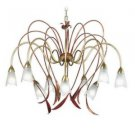 Zaneen Lighting Reggio - Nine Light Chandelier