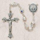 Swarovski™ Sterling Silver Rosary