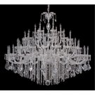Allegri 10239 Giordano 60 Light Chandelier in Chrome