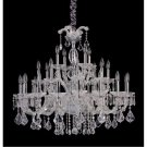 Allegri Lighting Giordano 10238- Twenty-Eight Light Chandelier