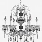 Allegri Lighting - 024350 - Faure - Six Light Chandelier