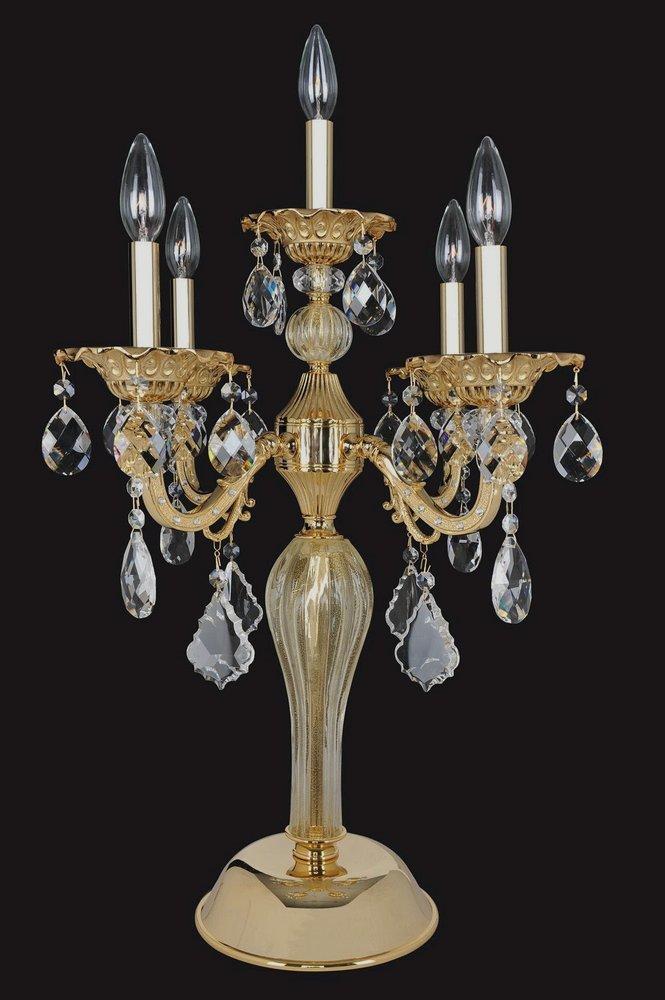 Allegri Lighting - 025392 - Vivaldi - Five Light Table Lamp