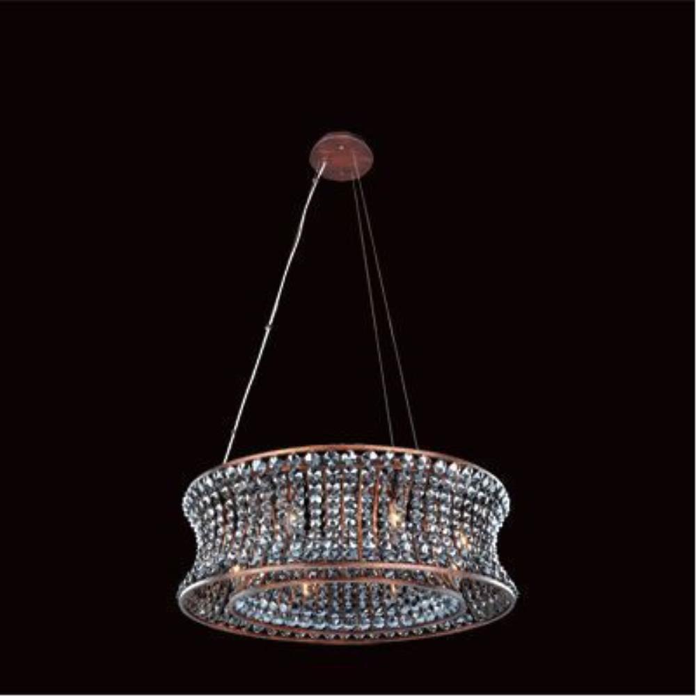 Allegri Lighting - 11731 - Corsette - Eight Light Round Pendant