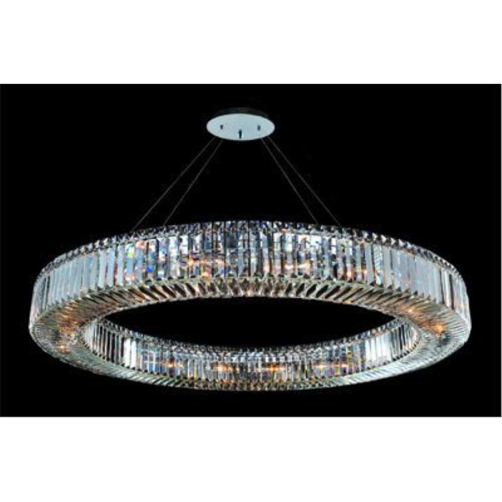 Allegri Lighting - 11706 - Quantum Rondelle - Eighteen Light Round Pendant