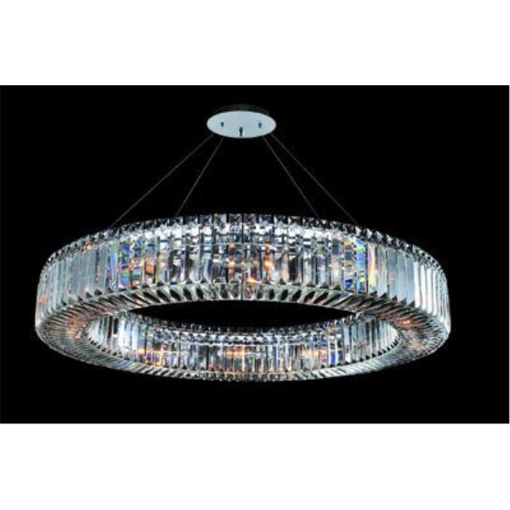Allegri Lighting - 11705 - Quantum Rondelle - Twelve Light Round Pendant