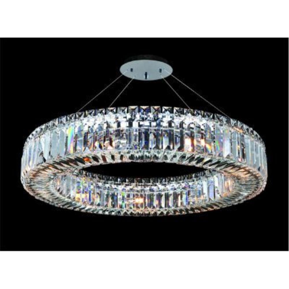 Allegri Lighting - 11704 - Quantum Rondelle - Nine Light Round Pendant