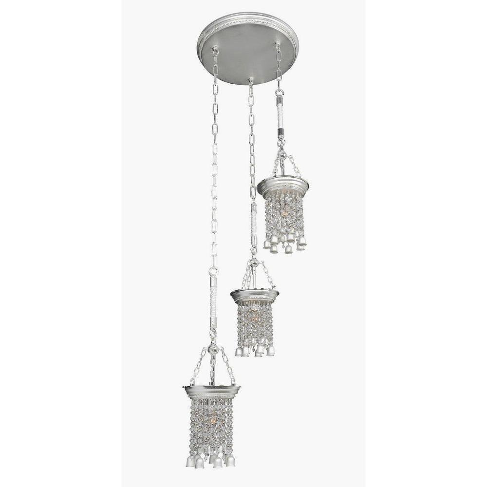 Allegri Lighting - 026640 - Clare - Three Light Pendant