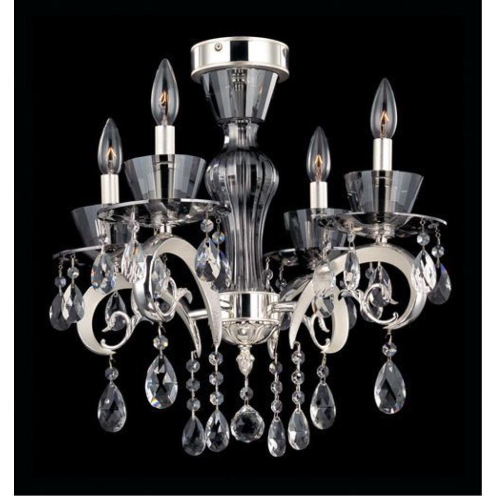 Allegri Lighting - 10090 - Locatelli - Four Light Semi-Flush Mount