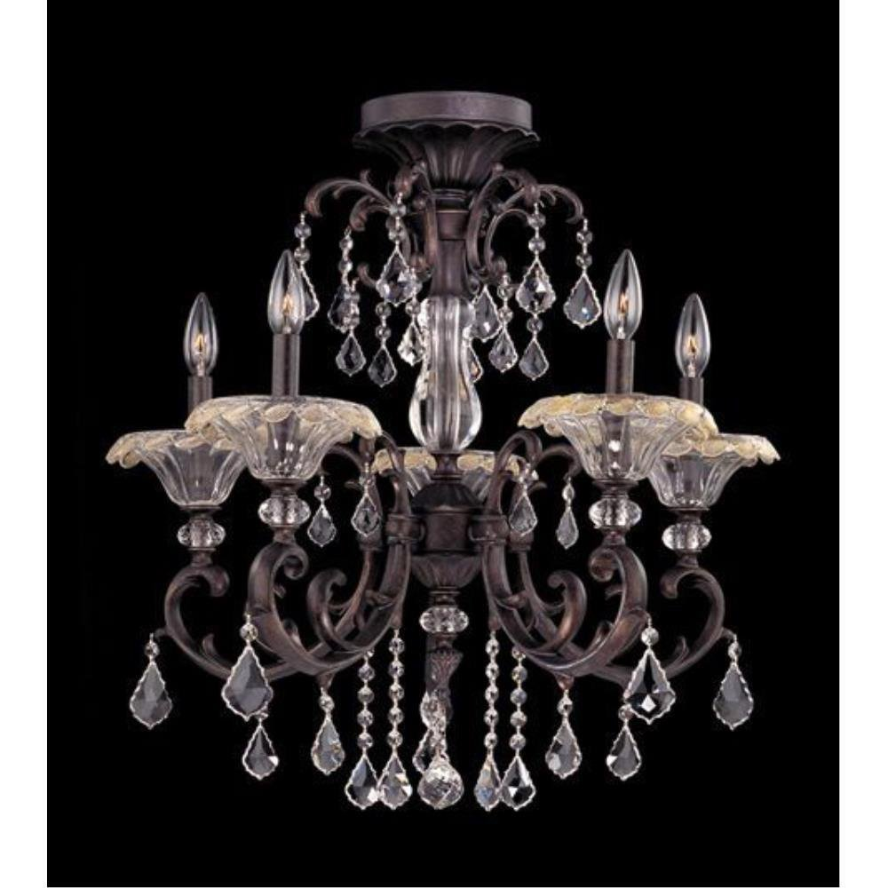 Allegri Lighting - 10210 - Praetorius - Five Light Semi-Flush Mount