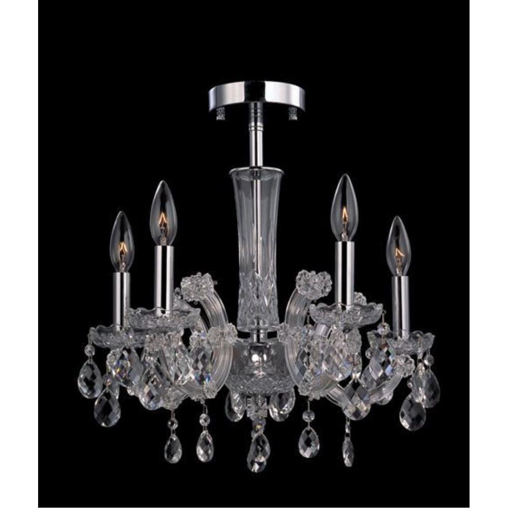 Allegri Lighting - 10390 - Pietro - Five Light Semi-Flush Mount