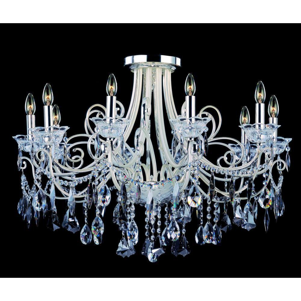 Allegri Lighting - 10889 - Brunetti - Ten Light Semi-Flush Mount