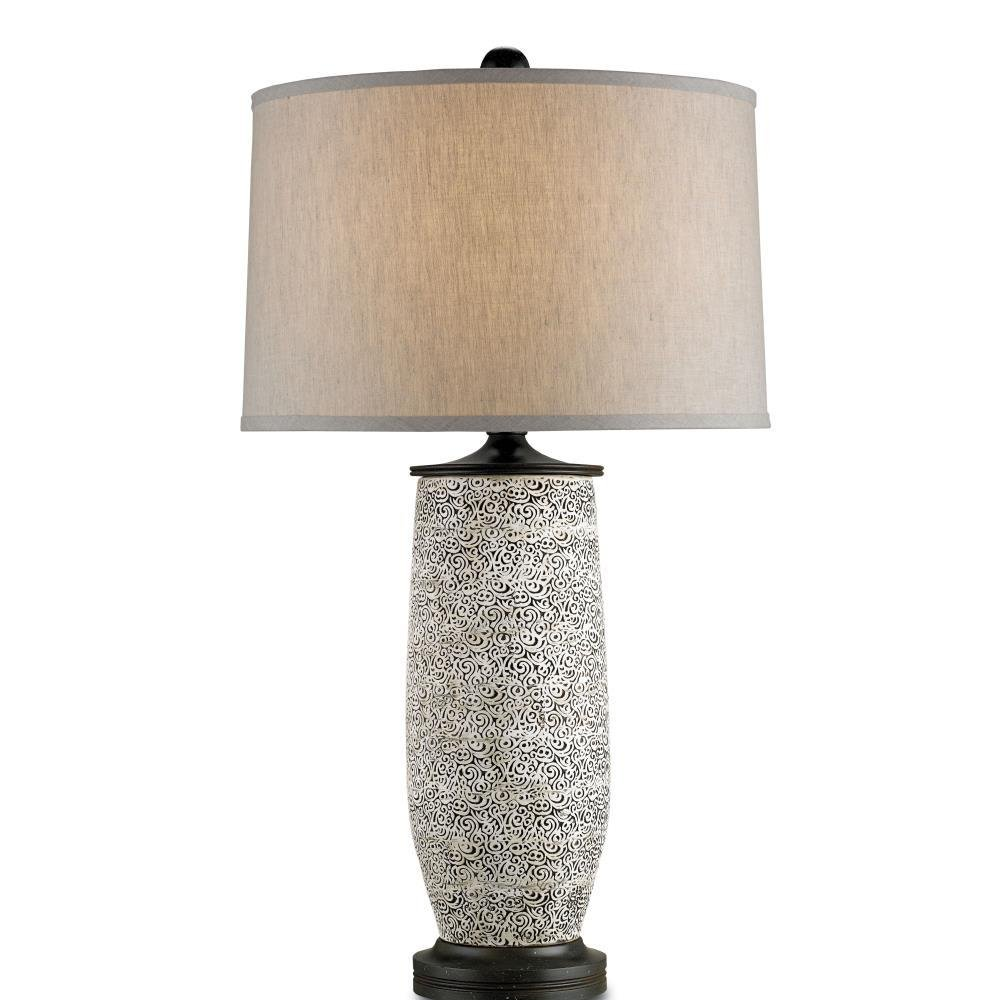 Currey and Company Filigree - One Light Table Lamp
