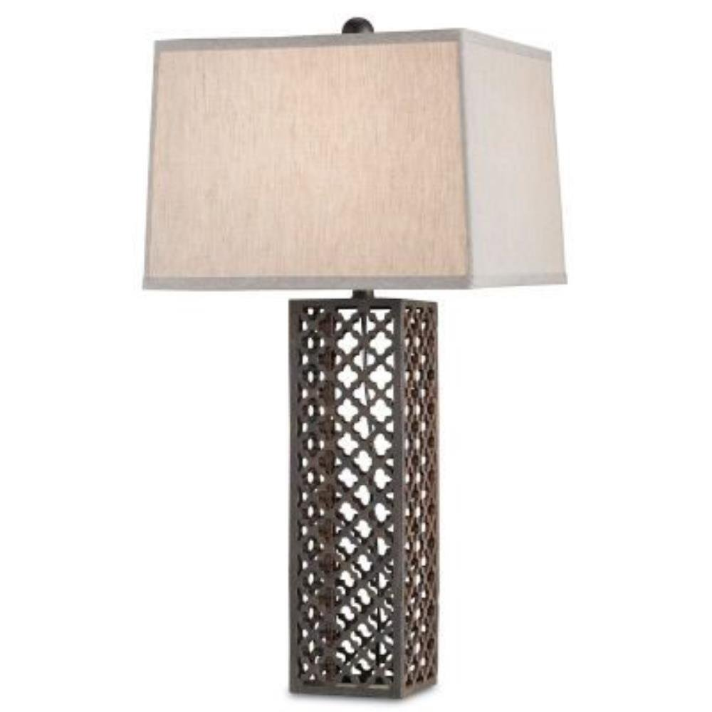 Currey and Company Madera - One Light Table Lamp
