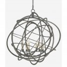 Currey and Company Genesis - Six Light Chandelier