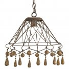 Currey and Company Tinker - One Light Pendant