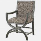 """Uttermost Cyerra - 34"""" Accent Chair"""