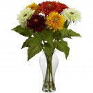 Assorted Sunflower Arrangement w/Vase