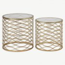 "Uttermost - 24434 - Zoa - 21"" Accent Table (Set of 2)"