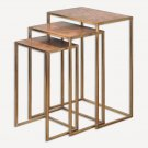 """Uttermost - 24449 - Copres - 27"""" Nesting Table (Set of 3)"""