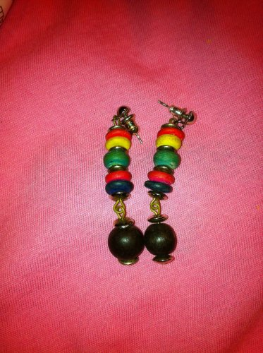 Long Multi-Colored Earrings