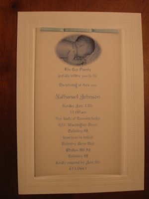 Christening & First Communion Invitations